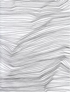 drawing - topography lines