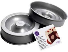 Wilton®: Tasty-Fill Heart 2-Piece Cake Pan Set Cake Supplies, Baking Supplies, Pan Set, Cake Pans, Dog Bowls, Fill, Tasty, Heart, Baked Goods