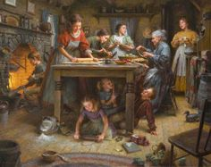 Morgan Weistling  My all time favorite family, it reminds me of my family...generations and pies