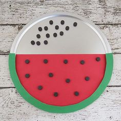 Kids can use the magnets on this sweet DIY magnetic board to practice addition and subtraction.