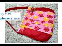 EASY सूट के बचे pieces से बनाए handmade SHOPPING BAG - cutting and stitching -shoulder bag - YouTube Sewing Tutorials, Sewing Projects, Sew Bags, Hand Lettering Alphabet, Diy Purse, Baby Dresses, Gift Bags, Bag Making, Shopping Bag