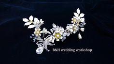 Bridal headpiece B&H wedding workshop