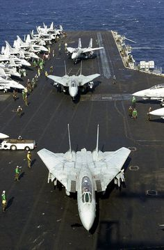 September 17, 1974: Entered Service: F-14 Tomcat with VF-1 and VF-2 aboard USS Enterprise