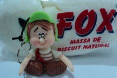 Turma do chaves chaveiro em biscuit Chaves