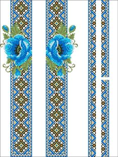 Scheme for hand embroidered cross-stitch for women's, men's,.- Scheme for hand embroidered cross-stitch for women's, men's, children's shirts or t-shirts for hand for - Cross Stitch Borders, Cross Stitch Flowers, Cross Stitching, Cross Stitch Embroidery, Cross Stitch Patterns, Bead Loom Patterns, Beading Patterns, Silk Ribbon Embroidery, Hand Embroidery