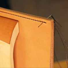 Want to learn more about hand sewing leather? Discover a few tips and tricks in this recent article on Martha Stewart by leatherworker Jim Linnell!