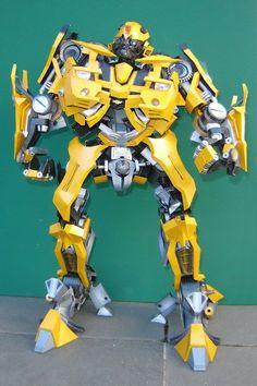 Paper Model - Transformers Bumblebee