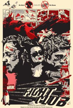 'Fight Club' Poster