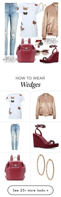 """Cool"" by kathyos on Polyvore featuring Roberto Coin, Valentino, SP Black, Ladurée and Witchery"