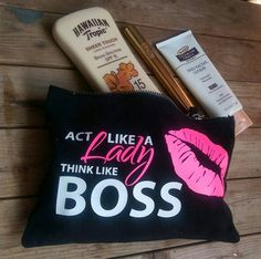Check out this item in my Etsy shop https://www.etsy.com/uk/listing/513712156/boss-babe-makeup-baga-cosmetic-make-up