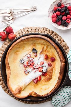Dutch Baby Pancake | TheCornerKitchenBlog.com