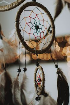 Light, airy and weightless dream catcher brown. Securely guards your sleep. Sunset Color Palette, Sunset Colors, Beautiful Dream Catchers, Deco Boheme, Close Up Photography, Just Dream, Trends 2018, Asmr, Home Interior