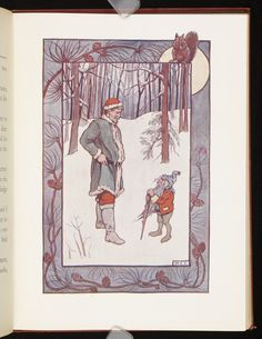 Illustration from The life and adventures of Santa Claus · Baum, L. Frank (Lyman Frank), 1856-1919 · 1902 · Albert and Shirley Small Special Collections Library, University of Virginia.