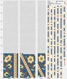 Мастер-класс по плетению шейного украшения / Колье, бусы, ожерелья / Biserok.org : schema 1 - 18 around