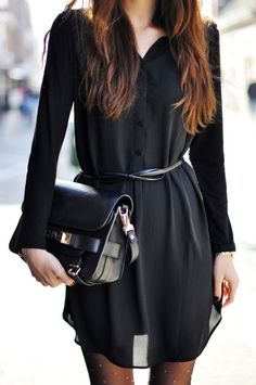 Black Winter Dress – The Most Versatile Dress in Your Wardrobe this Winter  #dress #blackdress #lbd #winter #fashion