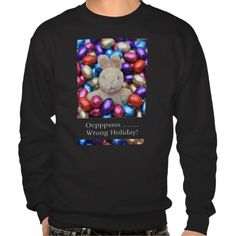 Bunny Wrong Holiday Ugly X-mas Sweater