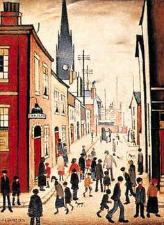 English artist, L.S. Lowry, used Berwick-Upon-Tweed as a subject