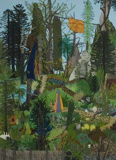 Anya Henis, Last Resort, Acrylic on canvas, x Kent Street, Art Web, Contemporary Art, Canvas, Artist, Painting, Tela, Artists