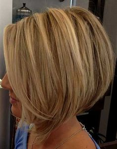 cool 20 Hot Stacked Bob Hairstyles For Short Hair Check more at http://www.ciaobellabody.com/hot-stacked-bob-hairstyles/