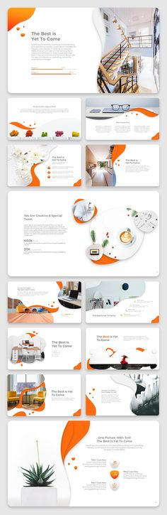 Liquid Creative & Clean Powerpoint Template #ppt #powerpoint #presentation #template #AD