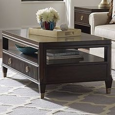 Found it at Wayfair - Grantham Hall Coffee Table Coffee Table Rectangle, Cool Coffee Tables, Coffee Table With Storage, Centre Table Living Room, Dining Room Sets, Coffee Table Wayfair, Contemporary Coffee Table, Interior Walls, Living Room Inspiration