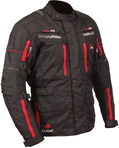 The new Weise Outlast Houston motorcycle jacket includes CE-approved armour and heat tech originally designed for NASA for a price of £159.99