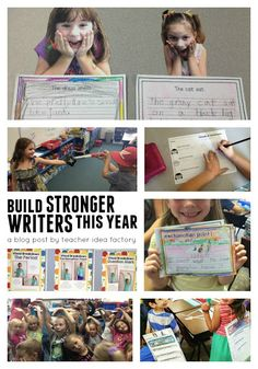 BUILDING STRONGER WRITERS (PART ONE)