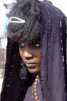 "Africa | Portrait of a Tuareg woman. ""Gerewol, 2005"" Niger | ©Daniela L"