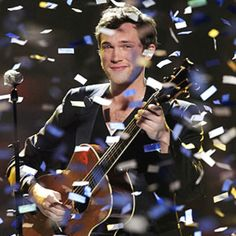 So in love with this guy...congrats to Phillip Phillips!
