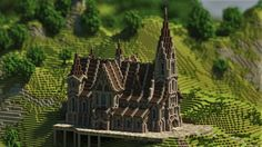 Medieval Church Minecraft Project