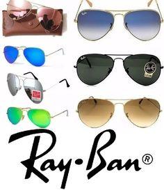 d68de51e84845 Aculos Ray ban Aviador Todas as Cores tamanhos Unisex