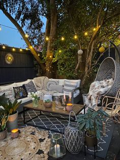 10 Ways to Transform Your Garden on a Budget – Melanie Jade Design – backyard design ideas Small Backyard Patio, Backyard Patio Designs, Backyard Landscaping, Backyard Layout, Outdoor Fairy Lights, Garden Fairy Lights, Outdoor Garden Lighting, Design Jardin, Small Garden Design