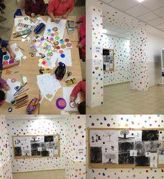 Kids ART LESSON ABOUT YAYOI #KUSAMA