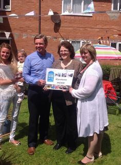 Rosie Cooper MP at Birch Green #CareHome