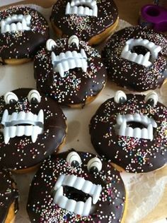 Monster-Donuts