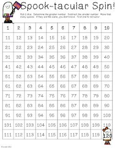 Rulin' The Roost: Halloween Math Freebie Math Resources, Math Activities, Math Games, Math Stations, Math Centers, Daily 5 Math, Daily 3, Halloween Math, Halloween Cupcakes