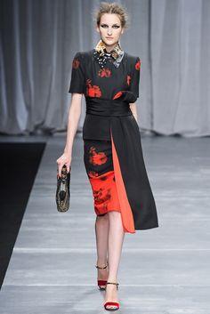 Antonio Marras Fall 2012 Ready-to-Wear Fashion Show - Katia Selinger