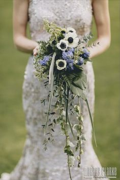 Beautiful lavender wedding flowers bouquet by award winning freelance florist specialising in weddings, Elise Ciampaglia from Florescence in Hampshire. Wedding flowers - purple, bouquet, white, Hampshire, UK