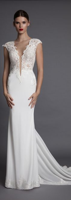 """Aisha"" from the new #BERTA bridal line - MUSE by berta <3"