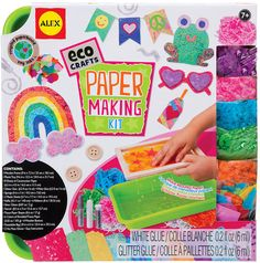 Alex Toys Craft Eco Crafts Paper Making Kit