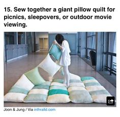 Outdoor seating/movie night ideas