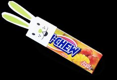 This Easter fill your basket with Hi-Chew Bunnies or give them out at your Easter Party! Download the free printable here and easily cut and glue your Hi-Chew bunnies in minutes.