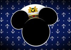 Convite kit festa Mickey Marinheiro