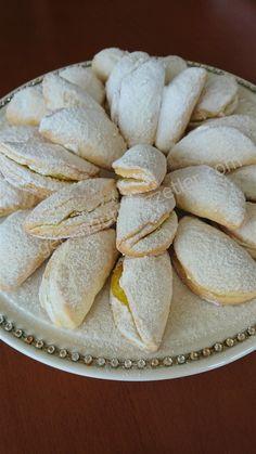Limon kremalı kurabiye
