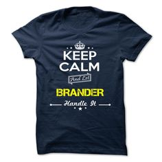 BRANDER T-Shirts, Hoodies. Check Price Now ==► https://www.sunfrog.com/Camping/BRANDER-112729761-Guys.html?id=41382