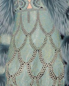 Jean Paul Gaultier haute couture f/w 2012. LOVE this art deco detail-!