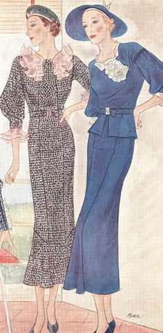 McCall's magazine, June 1934 featuring McCall 7847 and 7829