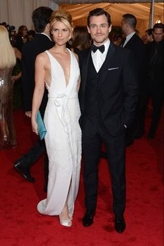 Claire Danes with hubby Hugh Dancy