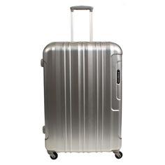 Mittelgroßer #Koffer March15 Cosmopolitan  bei Koffermarkt: ✓Polycarbonat-Hartschale ✓4 Rollen ✓schwarz, metallblau oder Alu-Look ⇒Jetzt kaufen