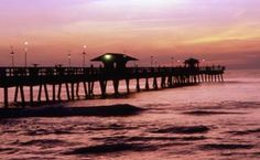 Pompano Beach, Florida. the pier my brother and grandpa go fishing off of while we are down there!